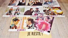 sophie marceau JE RESTE !  jeu photos cinema lobby card