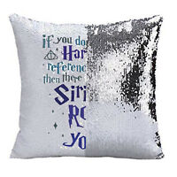 LBS4ALL harry potter if you don't get my happy potter references sequin cushion