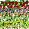 8Ft Seidenblumen Efeuranke Blumenranke Rosen Kunstblumen Blumen Girlande Deko