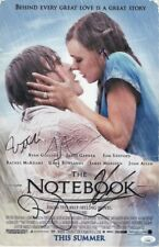 The Notebook Multi Signed Autographed 11X17 Photo Gosling Marsden JSA II23343