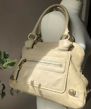 Marc Jacobs Large Beige Ivory Stam Bag Authentic
