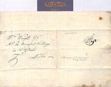 MS3035 1798 GB ESSEX Braintree *Panfield* EL Letter London Ref GUYS HOSPITAL