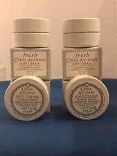 4x Fresh Creme Ancienne Soft Cream Ultimate Ageless Complexion Treatment 6ml ea