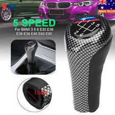 5 Speed Manual Gear Knob Shift Stick For BMW 3 5 6 E30 E36 E38 E39 E46 E60 E90