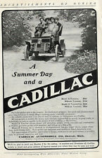 8 Early American Ads for Cars, Cadillac, Oldsmobile, Rambler, Crestmobile, etc.