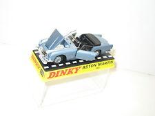 DINKY TOYS ATLAS, Aston Martin bleue métalisée, dinky ref 110