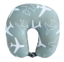 New Print For 2018 U Shape Micro-Bead Travel Pillow Neck Support Cushion Gray
