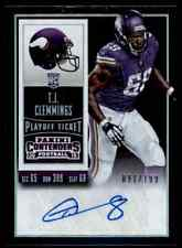 2015 PANINI CONTENDERS RAIDERS T.J. CLEMMINGS RC AUTO 91/199 PITTSBURGH PANTHERS