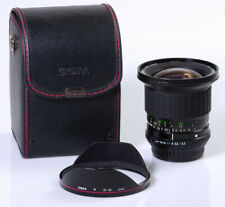 ZOOM SIGMA 3,5-4,2/21-35mm MC PENTAX K A KA POUR PENTAX K PENTAX K5 K7 K3 ....