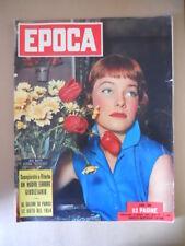 EPOCA n°158 1953 May Britt  - Al Salone di Parigi Le auto del 1954  [G772]