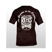 Cleto Reyes Boxing Black Logo T-Shirt Casual Training boxing Tee t-shirt