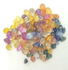 SAPPHIRE MIXED COLOR, SHAPES AND SIZES 10 CARATS FOR $25.99