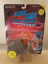 "STAR TREK MINI BORG SHIP THE NEXT GENERATION 1993 PLAYMATES 2.5"" NEW SEALED MINT"