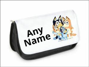 BLUEY Bluey personalised pencil case/make up bag School Kids Children's