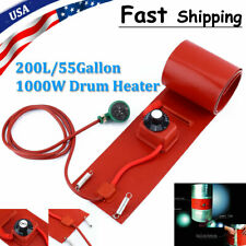 200L/55Gallon 110V 1000W Silicon Metal Oil Drum Heater Drum Heating