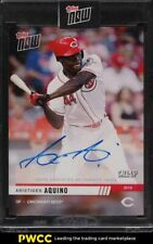 New Listing2019 Topps Now Call-Up Aristides Aquino Rookie Rc Auto