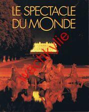 Le spectacle du monde n°400 - 07/1995 Versailles Éthiopie Soudan Cioran Karmitz