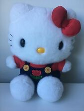 Stuffed Hello Kitty Plush Blue & Red Jumper(New without tag)