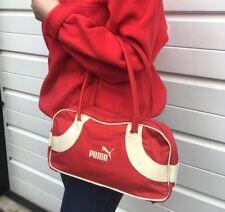 Womens Vintage 90s Puma Bag Puma HandBag Duffle Messenger Sports Bag Festival