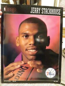 HOOP Print---JERRY STACKHOUSE Boston Celtics vs Philadelphia 76ers Dec. 13, 1995