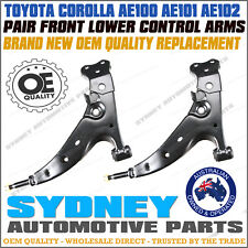 LEFT + RIGHT Toyota Corolla AE100 AE101 AE102 Front Lower Control Arms 1991-99