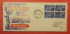 Dr Who 1957 Australia Flying Doctor Signed First Flight Cloncurry To Usa C218923