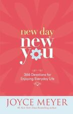 New Day, New You : 366 Devotions for Enjoying Everyday Life by Joyce Meyer NEW