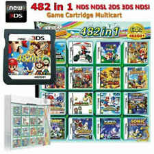 482 in 1 Games Card Cartridge Multicart For Nintendo NDS NDSI NDSL Game Consoles