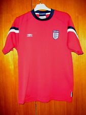 England Football Shirt UMbro Retro Red training Shirt size M 38/40