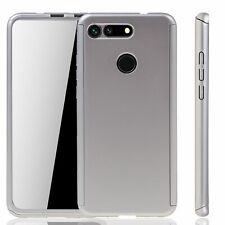 Huawei Honor View 20 Hülle Case Handy Cover Schutz Tasche 360 Panzerfolie Silber