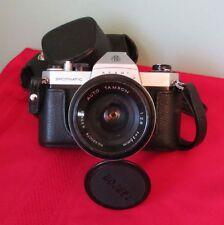 Asahi Pentax Spotmatic SPII Camera & AUTO TAMRON Lens 1:2.8 f=35mm No.630078