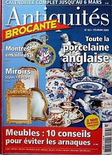 ANTIQUITES BROCANTE 2005: LA PORCELAINE ANGLAISE_LES MIROIRS_STARS EN PHOTOS