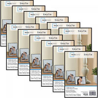 Photo Frame Set Of 12 5x7 Format Lot Wall Art Home Decor Float Picture Frames