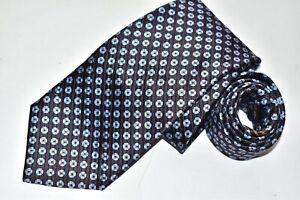 Men's Ermenegildo Zegna Brown Silk Neck Tie made in Italy