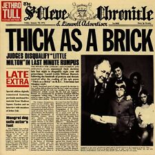 JETHRO TULL - THICK AS A BRICK - CD SIGILLATO JEWELCASE 1998 U.S.A.