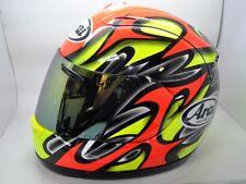 Arai RX7 Full Face Helmet RX7RR4 Colin Edwards Yellow Small replica Moto GP NICE