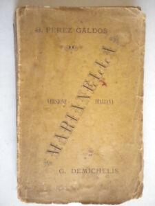 marianellaperez galdosmareggiani bologna 1880 romanzo traduzione demichelis