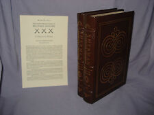Sherman: Fighting Prophet by Lewis - 2 Volumes - Easton Press - Leatherbound