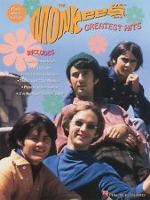 The Monkees Greatest Hits Sheet Music Piano Vocal Guitar Songbook NEW 000306229