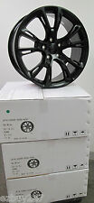 "20"" NEW JEEP GRAND CHEROKEE SRT 8 STYLE SET OF MATTE BLACK WHEELS RIMS 9113"