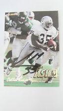 1997 Fleer # 181 Joe Aska Autograph Card PSA/DNA Pre-Certified Oakland Raiders