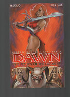 Dawn Return of the Goddess Joseph Linsner #1 of 4 Sirius 1999 NM to NM+