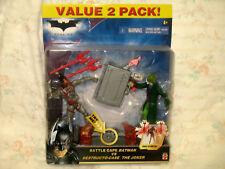 BATTLE CAPE BATMAN & DESTRUCTO-CASE JOKER 2 PACK