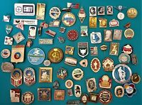 nice Lot of Different RUSSIAN  Pins Badges .