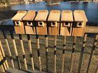 """Cedar Bluebird Bird House  3/4"""" THICK Cedar Birdhouse! Predator Guard TOP SELLER"""