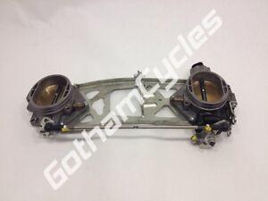 Ducati 1198 1198S Engine Throttle Body Bodies w/ TPS Throttle Position Sensor