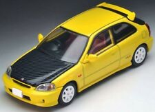 Tomica Limited Vintage NEO 1:64 Honda Civic Type R Custom 1999 Yellow Hong Kong