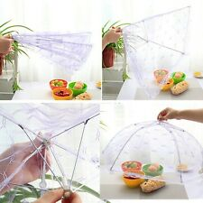 Fold Food Umbrella Cover Picnic Kitchen Party Pop Up Mesh Fly Wasp Insect Net WK