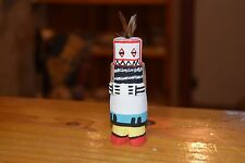 GRACE POOLEY ROUTE 66 KACHINA CARVING HOPI GUARD/FREE SHIPPING