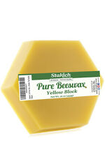 40 lb Hexagonal 100% PURE BEESWAX Block BEE WAX Natural Filtered Refined